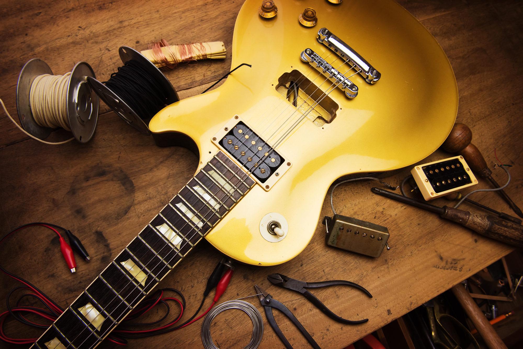 les paul guitar, custom guitar, guitar setup, electric guitar