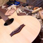 custom guitar setup, acoustic guitar, guitar maintainance
